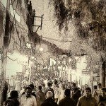 Tourist rush at Mall Road | India Then & Now