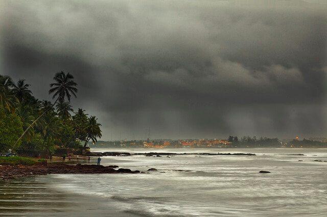 monsoons in goa
