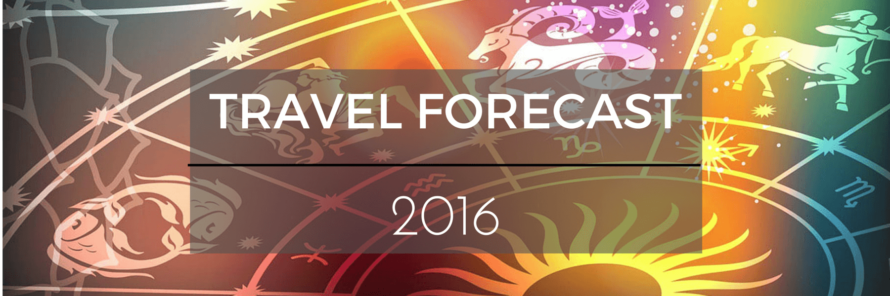 Travel Forecast