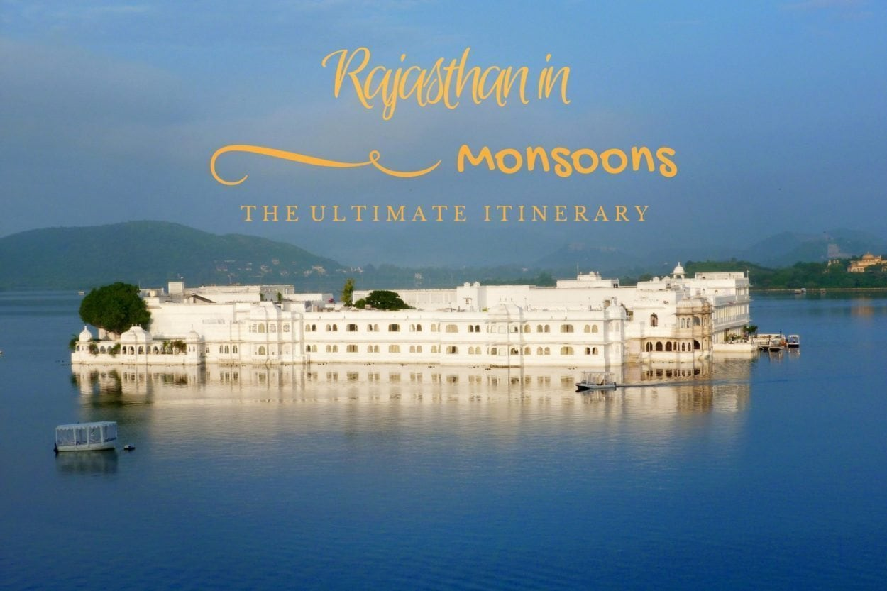 Rajasthan in monsoons