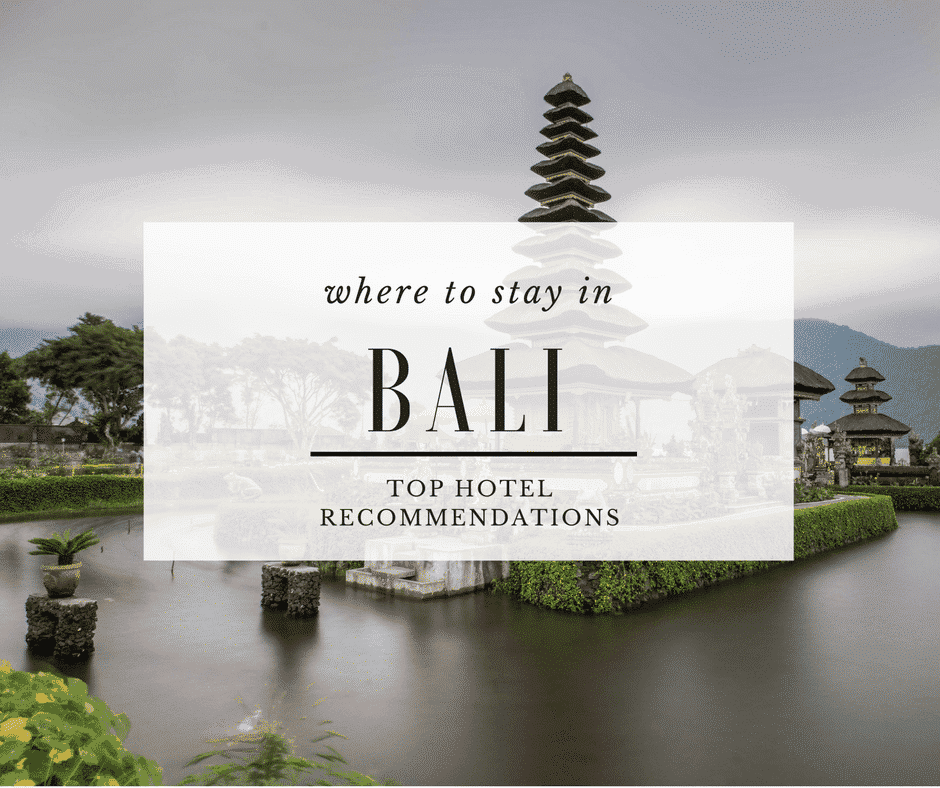 Bali Hotels Featured