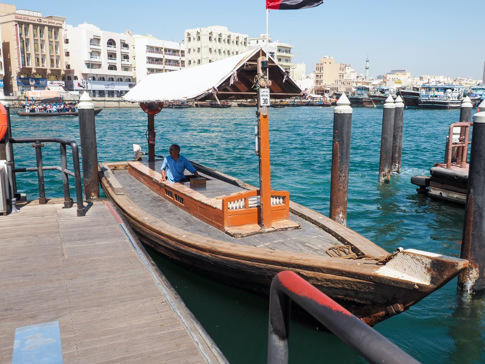 Offbeat Dubai | Dubai attractions | Abra ride | Old Dubai